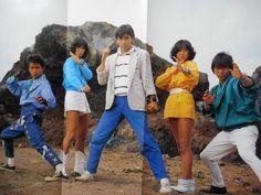Jin, Dai, Bun, Sara e Lou