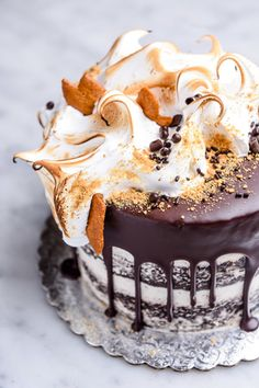 Smores cake from An