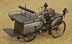 1884 De Dion, Bouton et Trepardou Dos-à-Dos is the oldest running car on the planet.