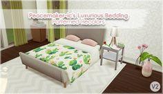 Allisas: Luxurious Bedding recolor • Sims 4 Downloads