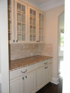 Lexington Butler's Pantry - Timberlake Cabinets Sierra Vista Hazelnut Glaze…