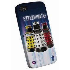 Exterminate! This Doctor Who Daleks iPhone 4/4s cover is a great way to celebrate your favorite sci-fi doctor
