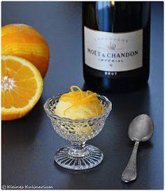 Kleines Kulinarium: Orangensorbet - Abschluss eines spannenden Jahres 2015!