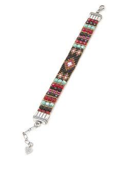 Red Diamond Bracelet - All Jewelry - Shop Jewelry   Peyote Bird Designs