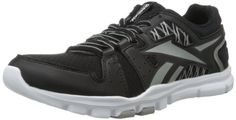 Reebok Mens Yourflex Train RS 40 CrossTraining ShoeBlackTin GreyWhite11 M US *** Click image to review more details. (This is an affiliate link)