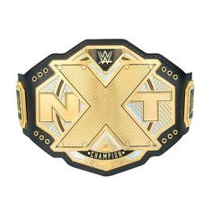 WWE NXT World Heavyweight Championship Wrestling Champion Belt Slammy Toy Figure