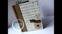 Tutorial Mini Album con sobres......  Scrapbook en español * Creaciones ...