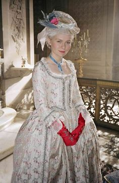 Kirsten Dunst as Marie Antoinette