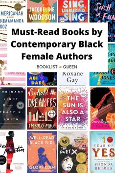 In honor of Black History Month, here is my list of books by contemporary black female authors - brilliant works by fierce women that everyone should read. Best Books To Read, Ya Books, Book Club Books, Book Lists, The Book, Good Books, Reading Lists, Reading Nook, Book Suggestions