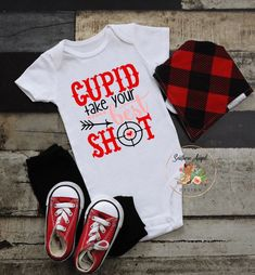 Girls Valentines shirt Cupid is my bestie shirt Toddler Toddler Valentine Shirts, Valentines Day Shirts, Valentines For Kids, Bodysuit Shirt, Long Sleeve Bodysuit, New Years Shirts, Vinyl Designs, T Shirts For Women, Trending Outfits