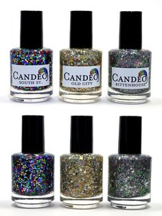 These Glitter Nail Polishes | 24 Things I Want To Have All Of