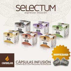 Nuevas Selectum Espresso Infusión. Nuestras primeras infusiones en cápsula.