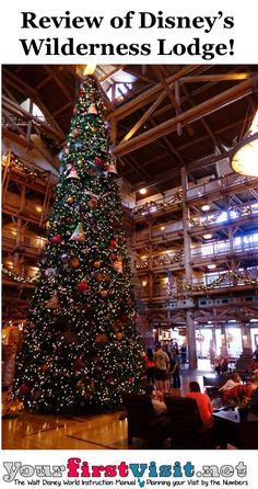 Review Disney's Wilderness Lodge from yourfirstvisit.net. Read more every 30 minutes in the Disney Bloggers Collection. http://disneybloggers.blogspot.com