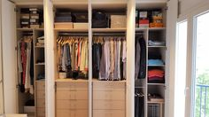 ¡Un armario bien ordenado te pone de buen humor por las mañanas!