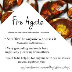 Fire Agate crystal meaning