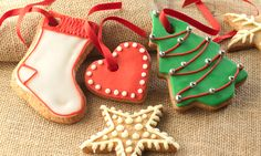 Galletas árbol de navidad