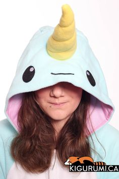 Narwhal Kigurumi Onesie Animal Adult Costume Pajamas