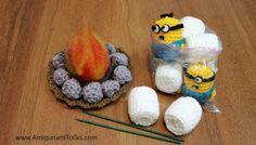 Amigurumi To Go: Minion Marshmallow Roast free pattern :)