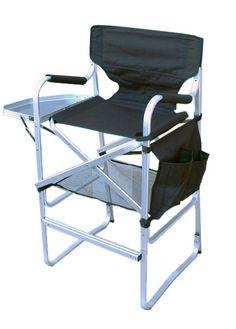 Tall Aluminum Makeup Chair (GWP*)
