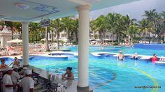 Riu Palace Riviera Maya, swim up bar