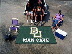 Baylor Man Cave UltiMat Rug 5'x8'