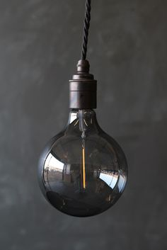 Atelier LED Smoke Glass Bulb - Large Globe - View All - NEW