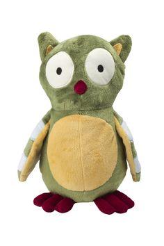Huhuhu Lambs & Ivy Enchanted Forest Plush Owl Stuffed Animal