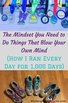 I've been running every day for 1000 days. This post shares what I've learned and done to develop the mindset that allowed me to blow my own mind about what is possible in life. Gentle Parenting, Parenting Advice, Running Everyday, Conscious Parenting, Postpartum Recovery, Thing 1, Get Your Life, Work From Home Moms, Life Advice