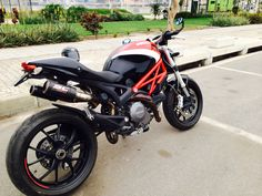 Ducati Monster 796 with SC-Project