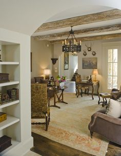 arch,neutral beams,ceiling height!