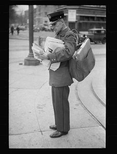 1930s Mail delivery