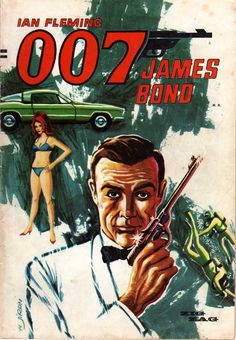 James Bond Characters, James Bond Books, John Landis, Star Trek Ii, The Big Sleep, Bond Girls, Film Music Books, Comic Covers, Book Covers