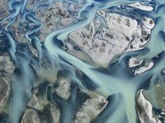 Hans Strand Glacier River Delta, East Coast  Iceland 2006
