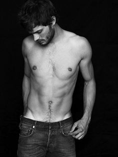 Jamie Dornan, once upon a time. Also just cast for 50 Shades of Grey.
