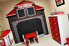 ... Station Mural Fire Trucks Children Names And Trucks On Pinterest Part 10