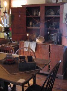 Inside the Walker Homestead   Brookfield,  MA