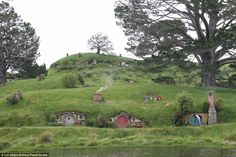 Comparisons have been drawn between the new £104million eco-resort and the fictional land ...