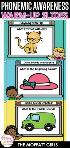 Phonemic Awareness Activities, Phonological Awareness, What Rhymes, Initial Sounds, Compound Words, Beginning Sounds, Seesaw, Google Classroom, Google Drive
