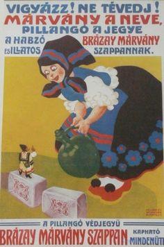 Magyar drogista reklámok - Szívlapát | a Kreatív magazin játszóblogja Vintage Posters, Retro Posters, Picture Cards, Illustrations And Posters, Hungary, Old Photos, Disney Characters, Fictional Characters, Ads