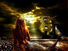 Pirates and Mermaids... lorelei means alluring enchantress