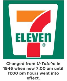 7-11 was my parents' fave place to fuel up, and MY fave we used to walk from my grandparents house to 7-11 for Slurpees! :)