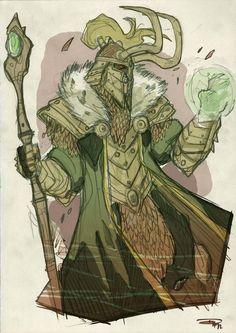 Loki by Denis Medri
