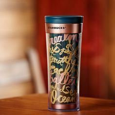 Bella Siren Tumbler - 12 fl oz | Starbucks® Store not necessarily this particular one but I need travel mugs, and prefer pretty non stainless.
