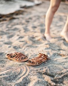 In My Dreams by Jenaly Enns: When the sun goes down shoes, sandals, beach
