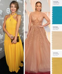 If you have a warm skin tone like Jessica Alba and J.Lo, try these colors.