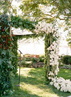 Floral Design: Anahita Events - http://www.stylemepretty.com/portfolio/anahita-events Event Coordinator: Weddings By Design - http://www.stylemepretty.com/portfolio/weddings-by-design-2 Florist: Anahita Events - http://www.stylemepretty.com/portfolio/anahita-events   Read More on SMP: http://www.stylemepretty.com/2017/04/07/heading-outdoors-for-a-stunning-black-tie-wedding-al-fresco/