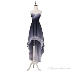 Long Black Prom Dresses Real Photo Grey High Low Ombre Chiffon Prom Dresses 2015 Vestidos De Festa Vestido Longo Criss Cross Ruching Bodice Tiered Prom Gowns Cheap Pink Prom Dresses From Serenitydress, $169.11| Dhgate.Com