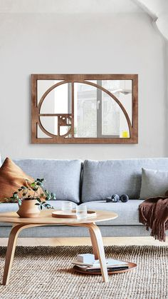 WOODMIRROR - ALTIN ORAN Wood Mirror, Space, Table, Furniture, Home Decor, Floor Space, Decoration Home, Room Decor, Tables