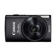 Canon PowerShot ELPH 330 HS 12.1-Megapixel Digital Camera Black (2 000 ZAR) ❤ liked on Polyvore featuring camera, electronics and technology