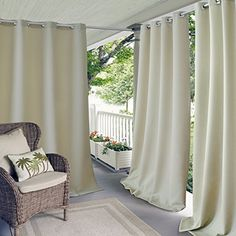 Elrene Home Fashions 20864ELR Connor Indoor/Outdoor Solid... https://www.amazon.com/dp/B01MTXD3MD/ref=cm_sw_r_pi_dp_x_GmE.yb7VV73XP